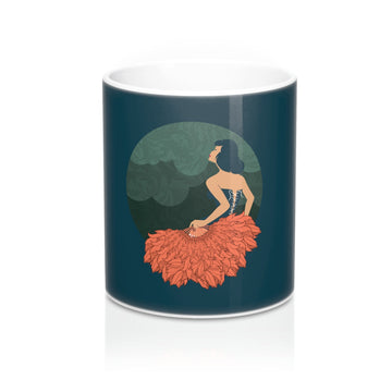 The Lady with the Feathers (11oz Mug)