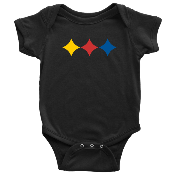 Steel City Three Star (Onesie)