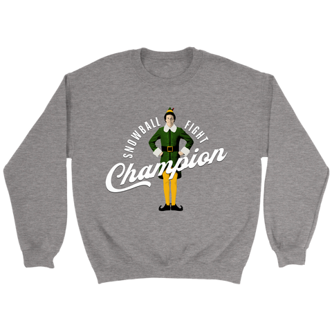 Snowball Fight Champion (Sweatshirt)