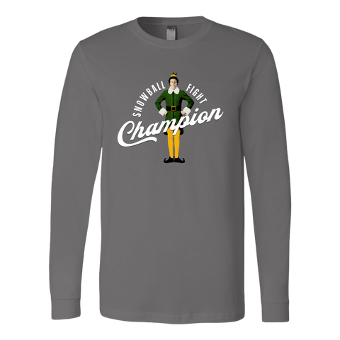 Snowball Fight Champion (Long Sleeve)