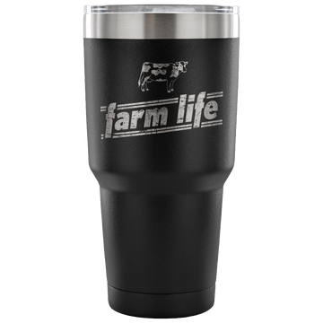 Farm Life - Cow (Travel Mug)