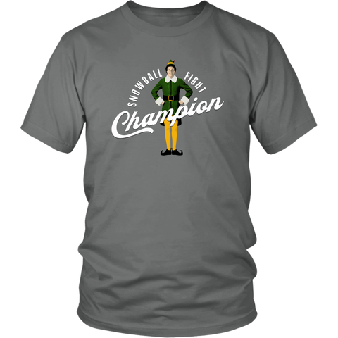 Snowball Fight Champion (T-Shirt)