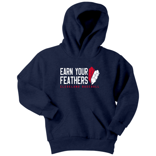 Cleveland: Earn Your Feathers (Kids Hoodie)