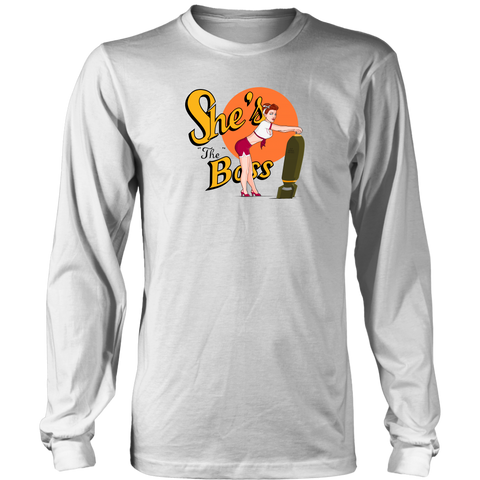 She's the Boss (Long Sleeve)