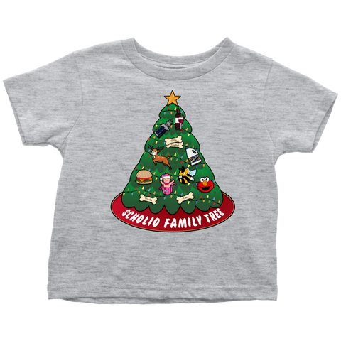 CUSTOM - Scholio Family Tree (Toddler T-Shirt)