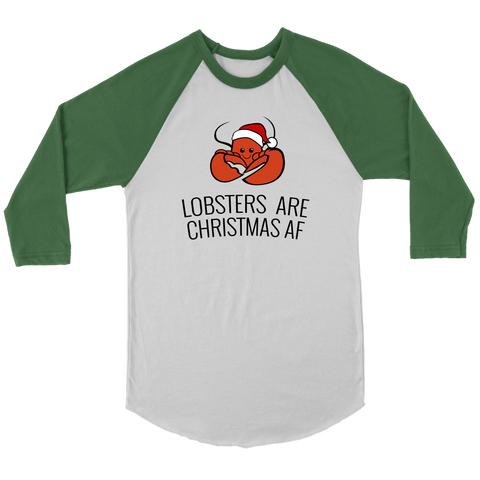 Lobsters are Christmas AF (Jersey Tee)