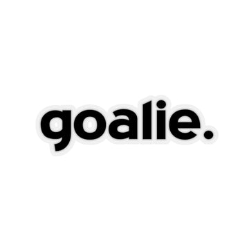 Goalie (Sticker)