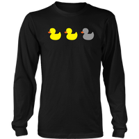 The Original Duck Duck Gray Duck (Long Sleeve)