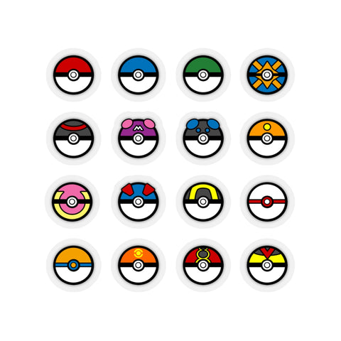 Poke Balls (Sticker)