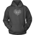 Heart of the City - Minneapolis/St. Paul (Hoodie)