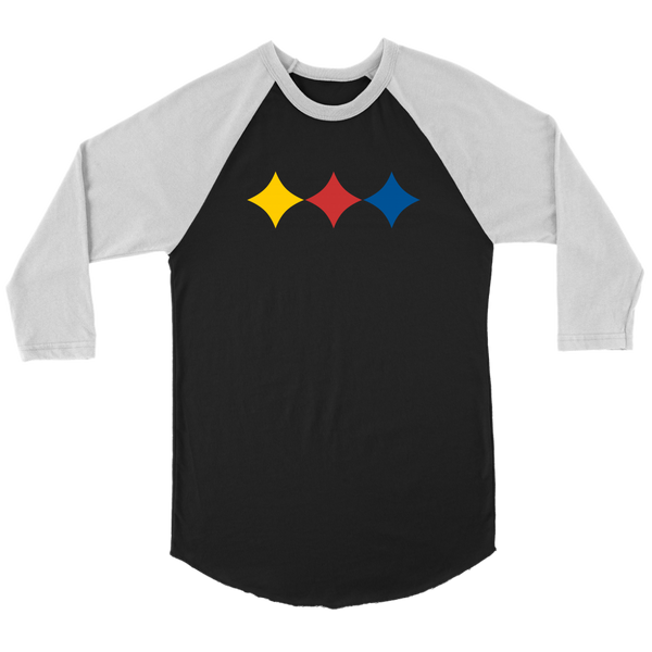 Steel City Three Star (Jersey Tee)