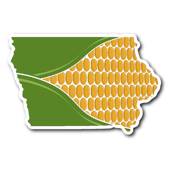 Cornfed Iowa (Sticker)