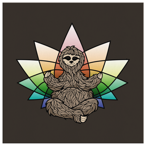 Zen Sloth (Wall Art)