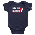 Cleaveland: Earn Your Feathers (Onesie)