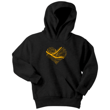 Heart of the City - Pittsburgh (Kids Hoodie)