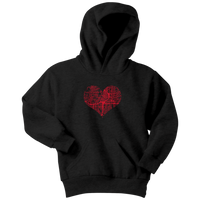 Heart of the City - Atlanta (Kids Hoodie)