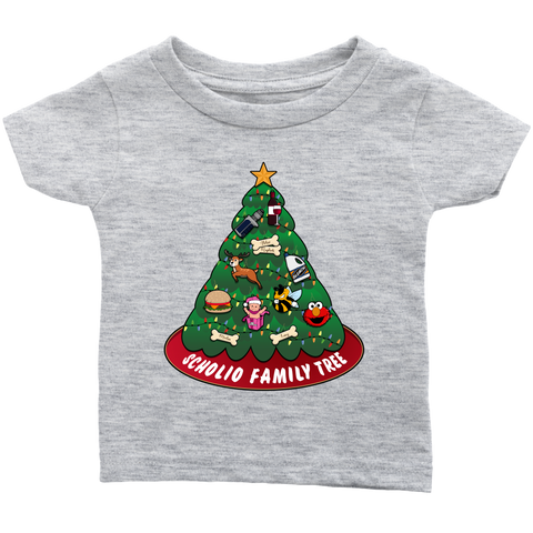 CUSTOM - Scholio Family Tree (Baby T-Shirt)