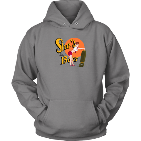 She's the Boss (Hoodie)
