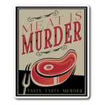 Meat is Murder (Sticker)