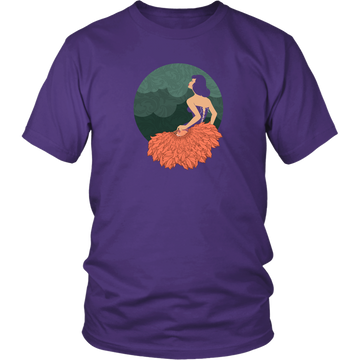The Lady with the Feathers (T-Shirt)