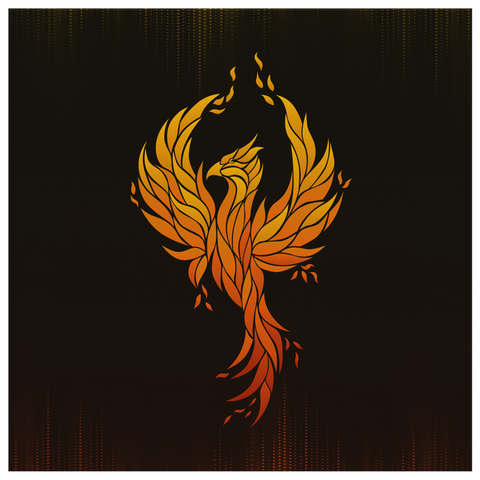 Phoenix Rising (Wall Art)