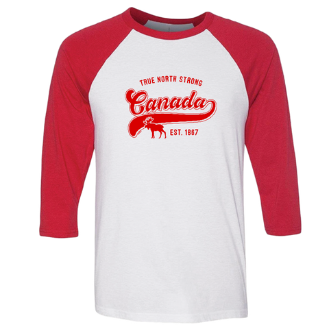 Adult Canadian Baseball Shirt