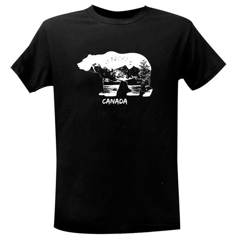 Wild Bear Nature Men's T-Shirt