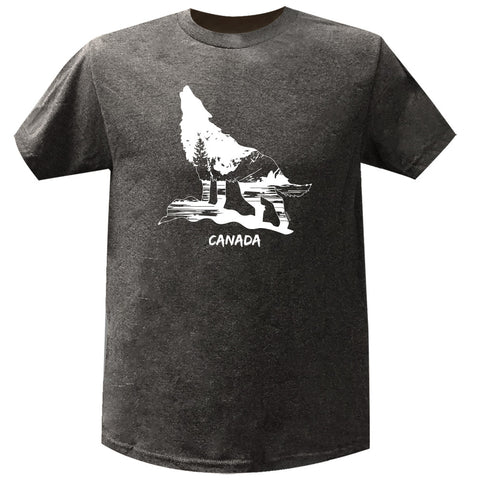 Wild Wolf Nature Men's T-Shirt