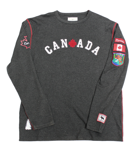 Mens Canadian Patch Shirt