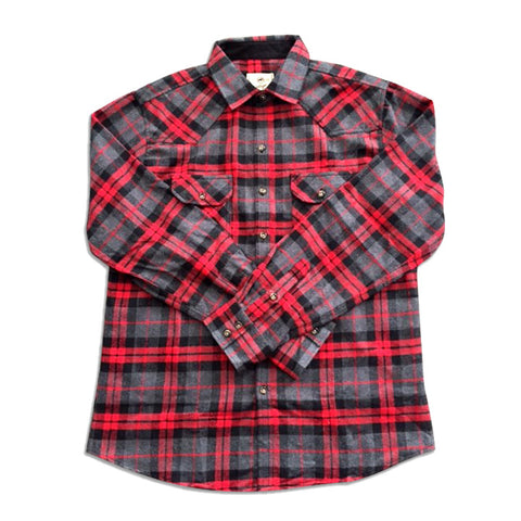 Adult Plaid Shirt