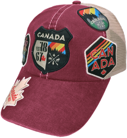 Canadian Patch Hat
