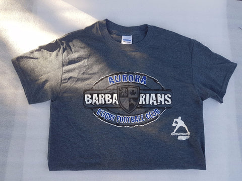 Dark Gray Barbarians Survivor T-shirt