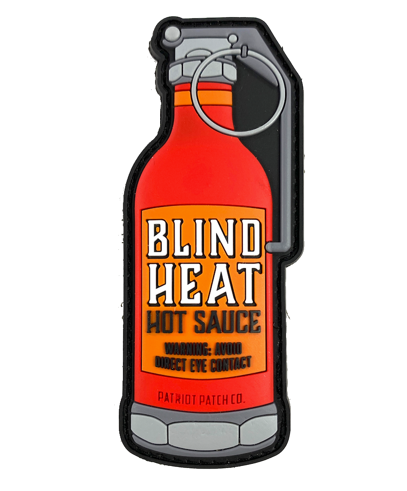 Blind Heat Hot Sauce Grenade - Patch