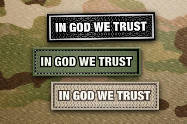 In God We Trust - Patches
