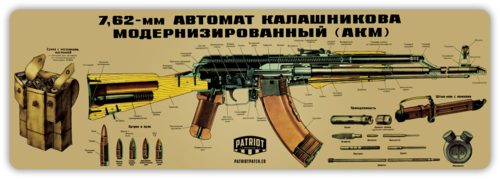 AK-47 Cleaning Mat