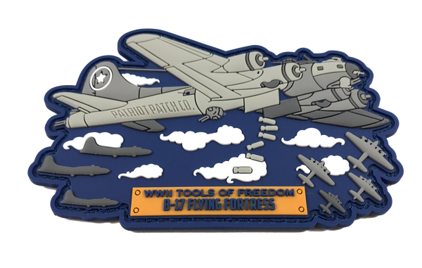 "WWII Armor ""B-17 Flying Fortress"" - Patch"