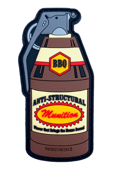 BBQ Sauce Grenade - Patch