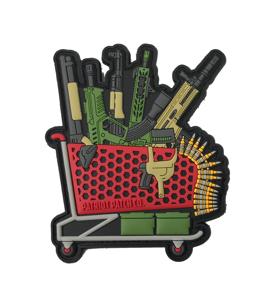Gun Store Shopping Cart - Patch