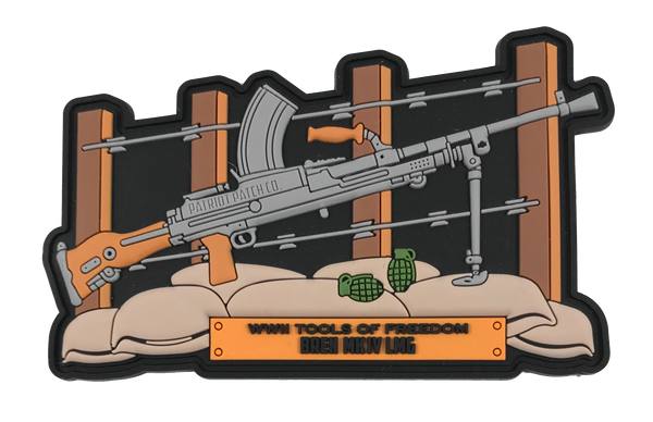 WWII Guns - Bren MK IV LMG - Patch