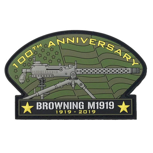 1919 Anniversary - Patch, Sticker & Artwork Limited Edition Set