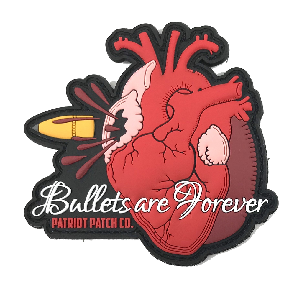 bullets are forever patch patriot patch company llc