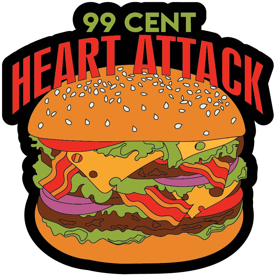 99 Cent Heart Attack - Patch