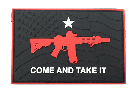 Come and Take It - AR15 - Patch