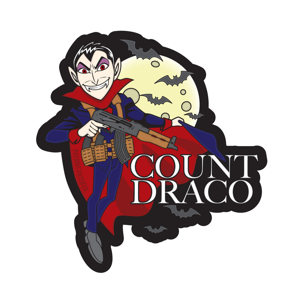 Count Draco Stickers