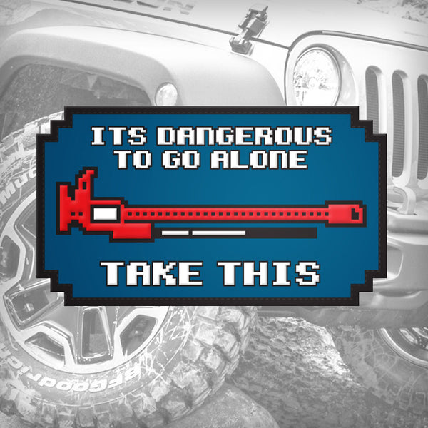 Cruiser Gear - Dangerous To Go Alone: Offroad Lift - Patch