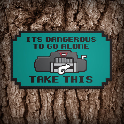 Cruiser Gear - Dangerous To Go Alone: Offroad Winch - Morale Patch