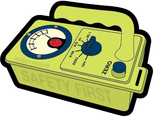 US Geiger Counter - Patch