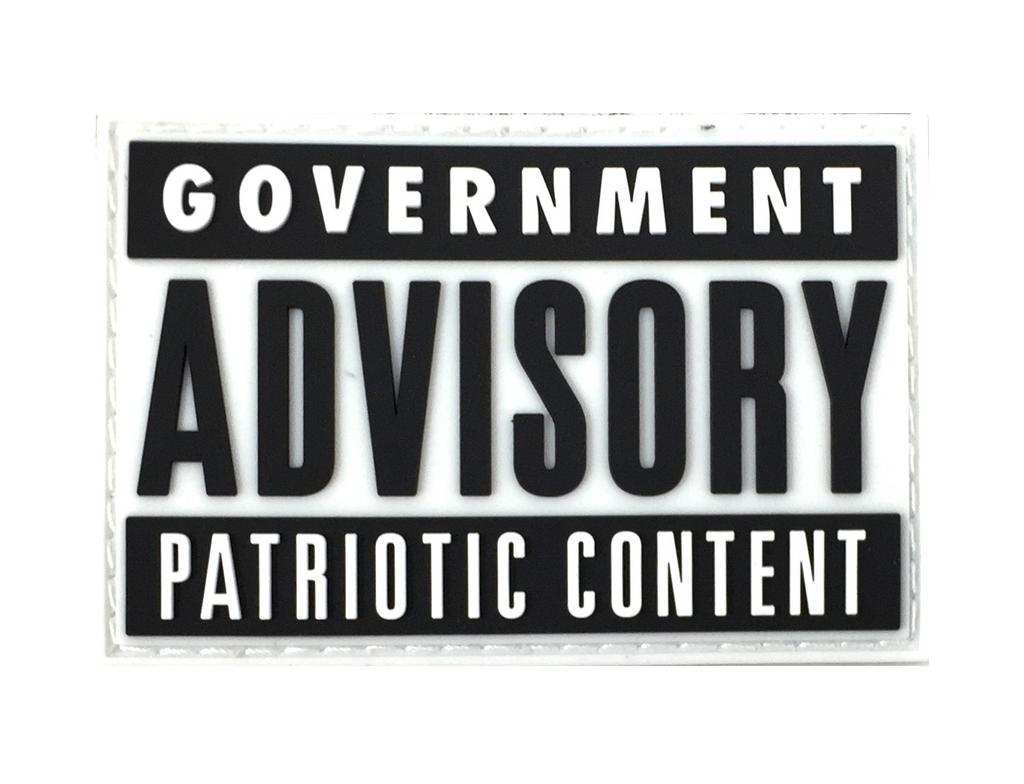 Government Advisory Patch - Patch