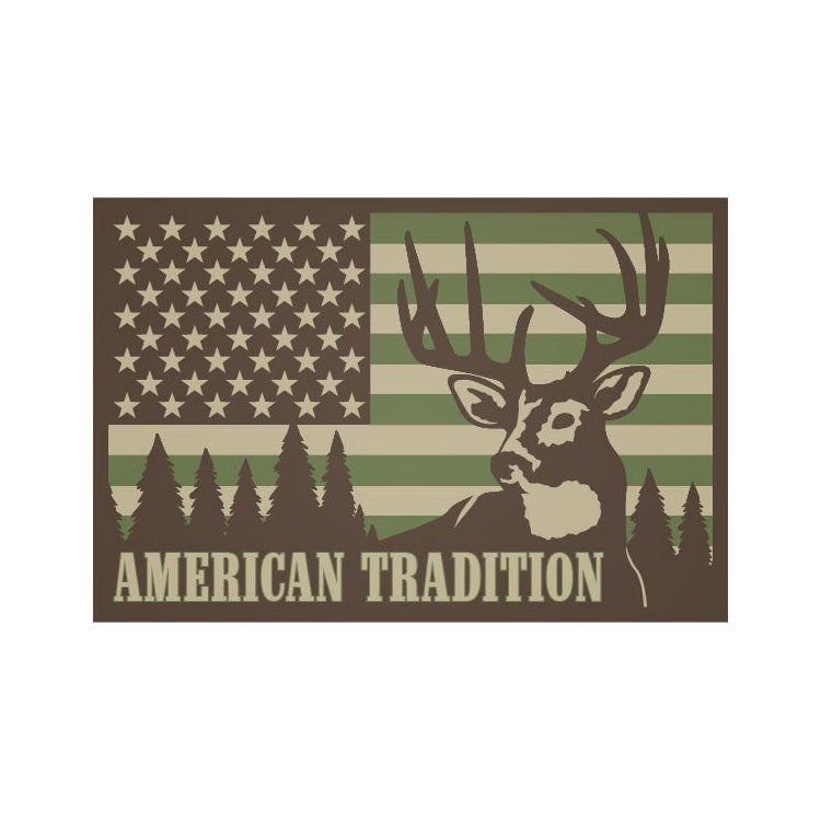 American Tradition - Deer Hunting - Sticker