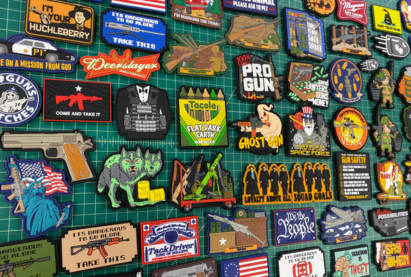 Scratch & Dent Sale - 5 Random Patches for $20!